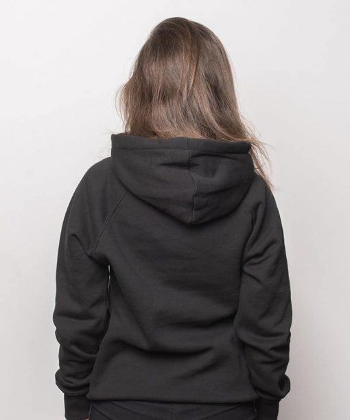 AK Grey Hood Black Women