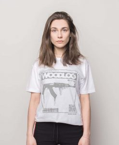 AK47 Grey Shirt White Women