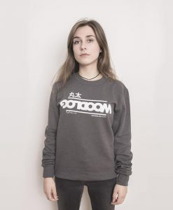 Big in Japan Sweater Dark Grey Women