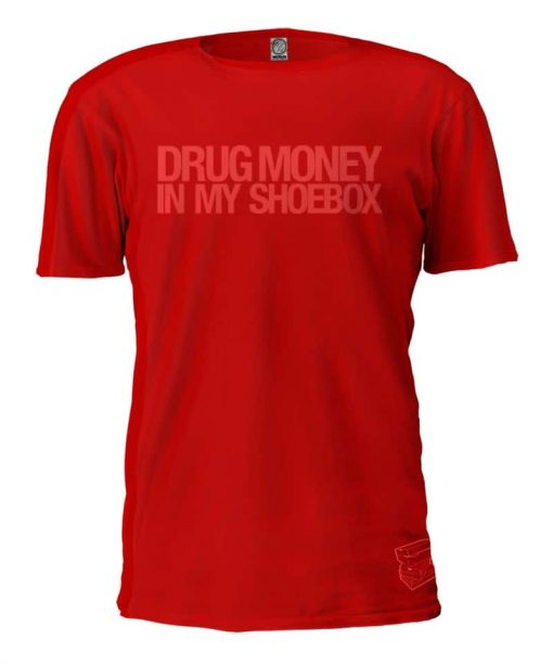 Drug Money in my Shoebox LTD Streetcode Red