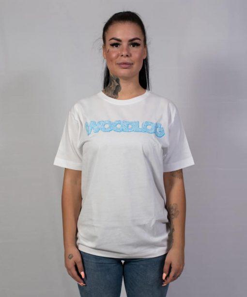 Flowers Shirt White Blueprint Women
