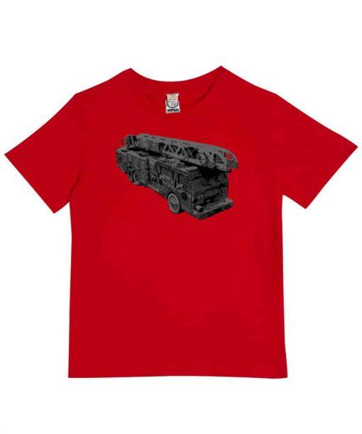 Woodlog Kids Shirt Feuerwehr