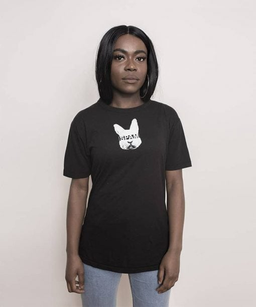 White Rabbit Spam Shirt Black Women