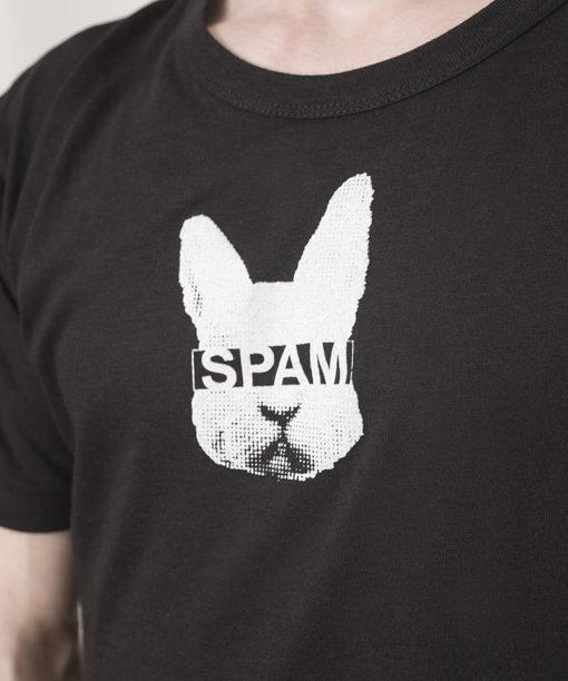 White Rabbit Spam Shirt Black Men