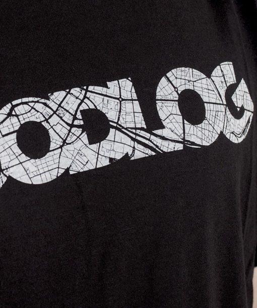 Woodlog BLN City Map Shirt Black Men