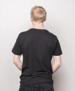 Woodlog Boxed Black on Black Shirt Bamboo Black Men