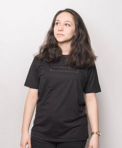 Boxed Black on Black Shirt Bamboo Black Women