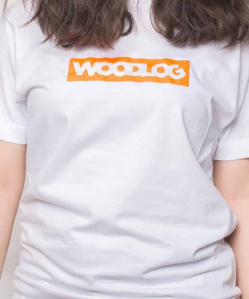 Boxed Neon Shirt White Women