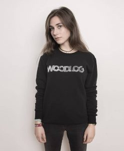 Woodlog HH City Map Sweater Black Women