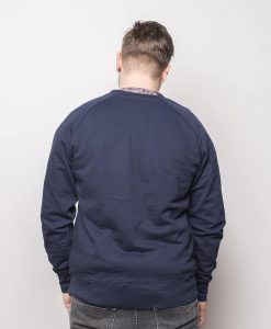 Medusa Gold Sweater Navy Men