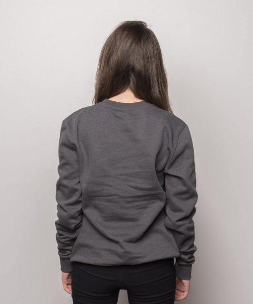 Woodlog Russia Sweater Charcoal Women